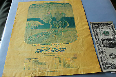 Vintage Surfing NIRVANIC SYMPHONY by Murray McIntosh French 8x11 Handbill POSTER