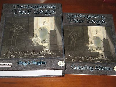 Slumbering Tsar Saga mega-campaign + Coloring Album NEW Pathfinder lot D&D rpg