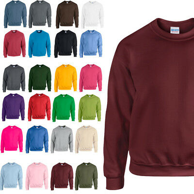 Gildan Heavy Blend Adult Crew Neck Pullover Sweatshirt Sweater Workwear Jumper