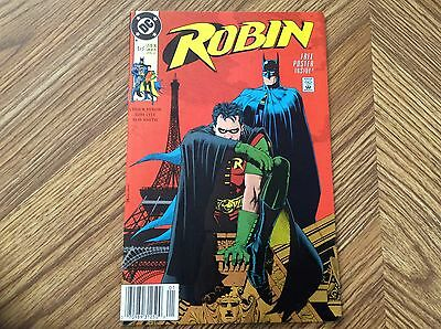 Robin #1 Of 5 (Jan1991) Free Poster Inside  (Dc Comics) Looks To Be Nm/mt