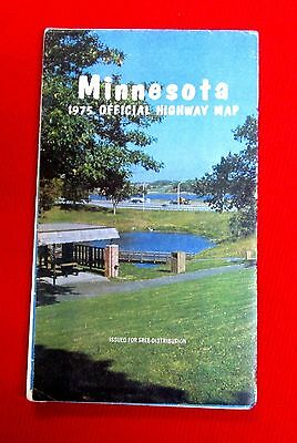 1975 Minnesota Official Highway Map meac10