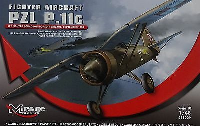 MIRAGE HOBBY® 481009 PZL P.11c 112 Fighter Squadron 1943 in 1:48