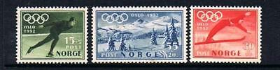 STAMPS  Norway Winter Olympics set 1951 (MINT NO GUM) A 116