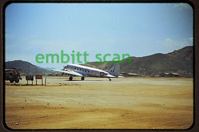 Original Slide, RAAF Douglas C-47B Dakota, 1950s Korean War