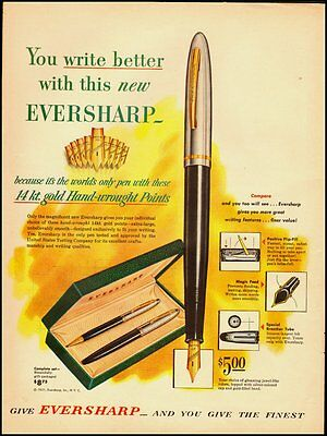 1951 Vintage ad for Eversharp   (040412)