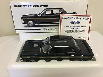 1:18 1971 Ford Falcon GTHO Phase 3- ONYX BLACK