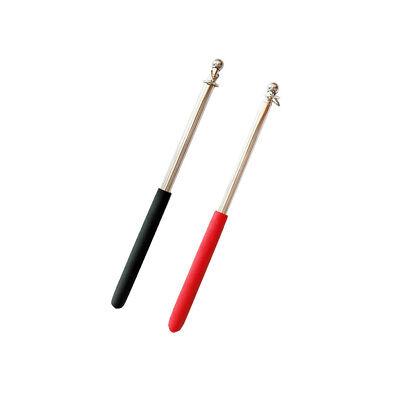 2pc 1m FlagPole Portable Telescopic Extend Handheld Pole for Flag Windsock