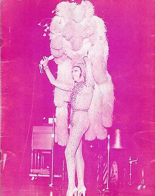 JOSEPHINE BAKER and her International Revue 1973 Carnegie Hall Souvenir Program