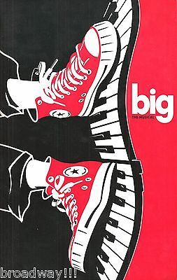 "Maltby & Shire ""BIG"" (the Musical) Daniel Jenkins 1996 Broadway Souvenir Program"