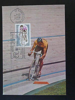 bicycle cycling world championships 1972 maximum card 75147