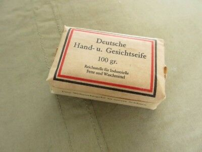Deutsche Kernseife 100gr Soap Soldaten Front Greetings WH WW2 WK2 Wehrmacht