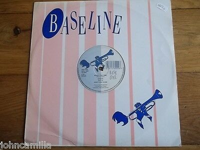 "D/note - Now's The Time 12"" Record / Vinyl - Baseline - Basl 009T"