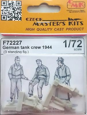 CMK F72227 WWII German Tank Crew 1944 RESIN Figuren in 1:72