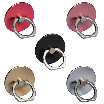 2 Pcs 360° Finger Ring Sticker Phone Stand Holder Mount Rack Phone Accessories