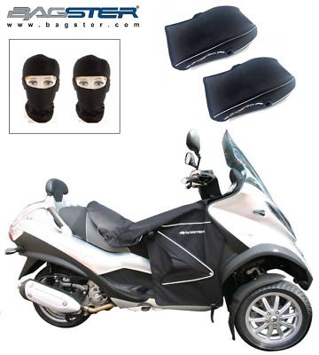 Pack Hiver BASGTER Piaggio MP3 125 250 300 400 500 Tablier  Manchons 2 Cagoules
