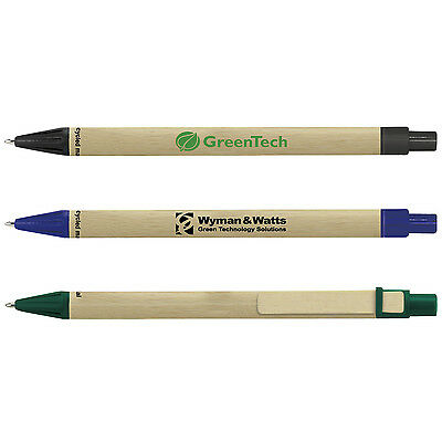 Ecol Eco-Friendly Recycled Pens Personalized Earth Friendly Customer Handouts