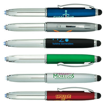 Led Light Stylus Pen Personalized Tech Customer Handout Advertising Marketing