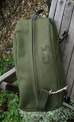 British Army Olive Green Bergen SIDE Bag Pocket/Pouch Webbing PLCE Paintballing