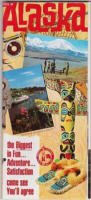 1967 Alaska Centennial Travel Brochure