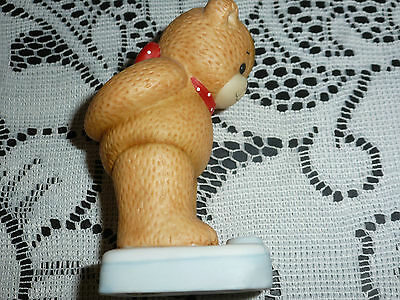 Enesco Lucy & Me Figurine:  Bear on Scale