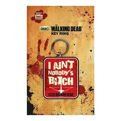 The Walking Dead Keyring Key chain Daryl Dixon Crossbow new Official Red Rubber