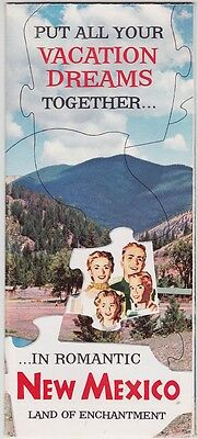 1958 New Mexico Tourism Promotional Brochure