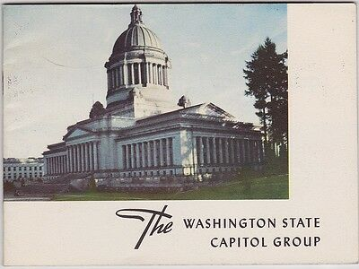 1953 Washington State Capitol Buildings Booklet