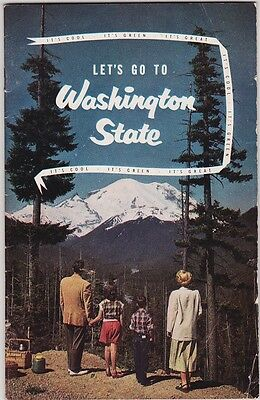 1950's Washington State Tourism Promotional  Booklet