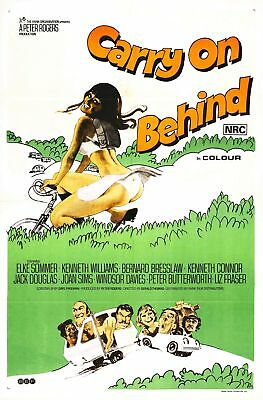 Carry On Behind__Laminated Mini Poster_Sid James