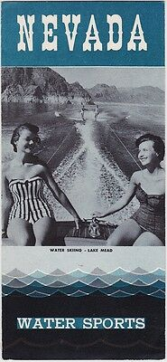 1950's Nevada Water Sports Brochure