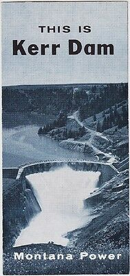 1950's Montana Power Kerr Dam Brochure