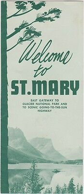 1950's St. Mary Montana Promotional Brochure