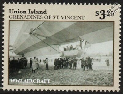 WWI Landing of Luftschiff Zeppelin LZ.24 (L3) M-Class German Airship Stamp
