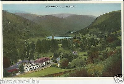 Glendalough  County Wicklow c. 1954 Unposted Postcard