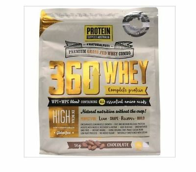 PROTEIN SUPPLIES AUSTRALIA 360 Whey WPI & WPC Combo Chocolate 1kg