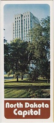 1970's North Dakota State Capitol Promotional Brochure