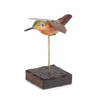 HUMMINGBIRD Figurine Dean Crouser Americana Collection New in Wood Box