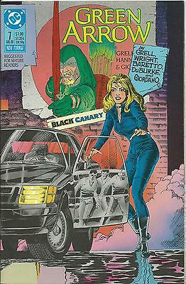 Green Arrow #7 (Dc) (1988 Series)