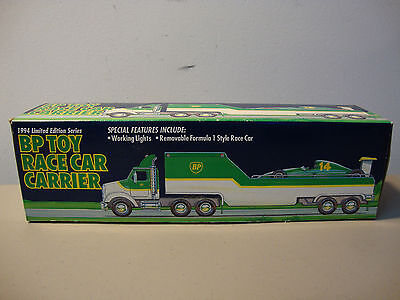 1994 Bp Toy Race Car Carrier   *nib*   Fast/same Day Shipping   L@@k