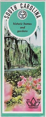 1970 Historic Homes And Gardens Brochure
