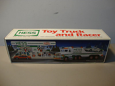 1991 Hess Toy Truck And Racer  *brand New* Mib  *fast Shipping*  L@@k