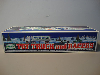 1997 Hess Toy Truck And Racers *brand New* Mib *fast/same Day Shipping* L@@k
