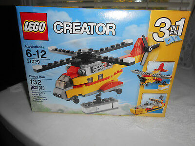 Lego CREATOR Cargo Heli Helicopter 31029 - 3 in 1 Set - BRAND NEW SEALED BOX