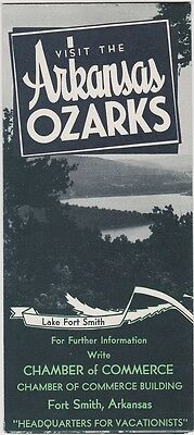 1930's The Arkansas Ozarks Promotional Brochure