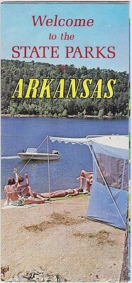 1960's Arkansas State Parks Promotional Brochure