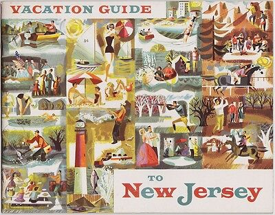 1950's New Jersey Vacation Guide Booklet