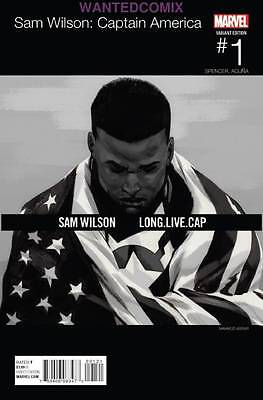 Captain America Sam Wilson #1 Asrar Hip Hop Variant Cover Marvel Comic New 2015