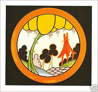 Clarice Cliff Card - SUMMERHOUSE