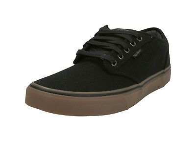 Vans Men Women Unisex Shoes 12 oz Canvas Black Gum Atwood Sneakers