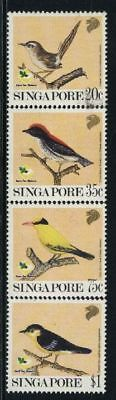 Singapore MNH Scott 605-08 Birds Value $ 8.85